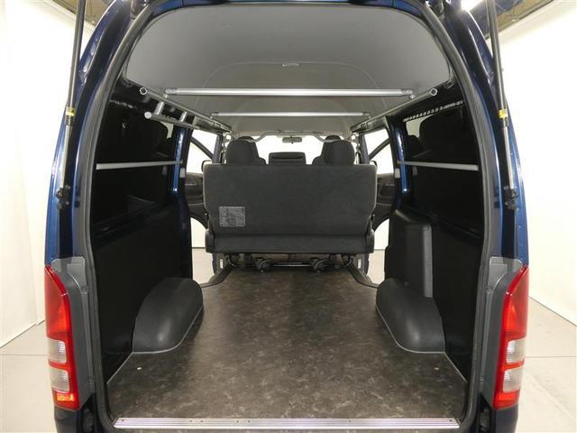 ロングDX GLパッケージ キーレスエントリー CD再生付き ETC AC100V100W電源 ワンオーナー車ベンチシート マニュアルエアコン リアヒーター付き ABS付き シングルエアバッグ付(17枚目)