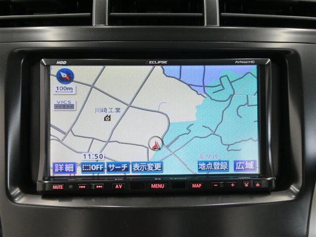 S スマートキー LEDヘッドライト フルセグHDDナビ バックモニター ETC ワンオーナー車 リアスポイラー付き 純正アルミホイール CD/DVD再生機能付き オートエアコン 横滑り防止装置付き(6枚目)