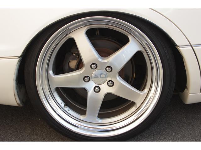 B仕様eRバージョン10thアニバーサリED ブラックレザー サンルーフ 10th専用ウッドパネル 限定車 HDDナビ ゼグスピードフルタップ式車高調 WORKグノーシスHS203 20インチ(21枚目)