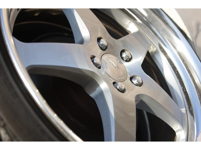 B仕様eRバージョン10thアニバーサリED ブラックレザー サンルーフ 10th専用ウッドパネル 限定車 HDDナビ ゼグスピードフルタップ式車高調 WORKグノーシスHS203 20インチ(25枚目)