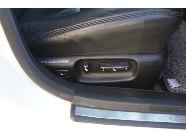 B仕様eRバージョン10thアニバーサリED ブラックレザー サンルーフ 10th専用ウッドパネル 限定車 HDDナビ ゼグスピードフルタップ式車高調 WORKグノーシスHS203 20インチ(50枚目)