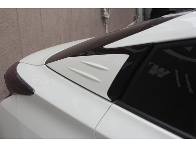 S ブラックパールフロントバンパー サイドリアモデリスタ シュバートSC4 19AW ガナドールマフラー アルパイン9インチナビ クスコ車高調e-COM付き 純正オプションフットランプ&ラゲッジランプ(34枚目)