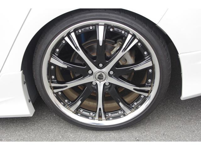 S ブラックパールフロントバンパー サイドリアモデリスタ シュバートSC4 19AW ガナドールマフラー アルパイン9インチナビ クスコ車高調e-COM付き 純正オプションフットランプ&ラゲッジランプ(40枚目)