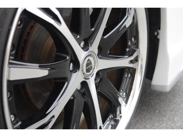 S ブラックパールフロントバンパー サイドリアモデリスタ シュバートSC4 19AW ガナドールマフラー アルパイン9インチナビ クスコ車高調e-COM付き 純正オプションフットランプ&ラゲッジランプ(41枚目)