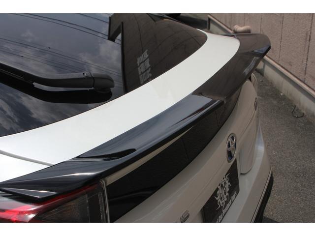 S WALDエアロパーツ WALDリアスポイラー WORKエモーションCR2P18インチ フルタップ式車高調 アルパインX9V大型ナビ ETC 社外コンビハンドル ドラレコ 革調シートカバー フロアマット(23枚目)