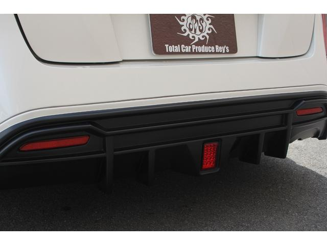 S WALDエアロパーツ WALDリアスポイラー WORKエモーションCR2P18インチ フルタップ式車高調 アルパインX9V大型ナビ ETC 社外コンビハンドル ドラレコ 革調シートカバー フロアマット(27枚目)