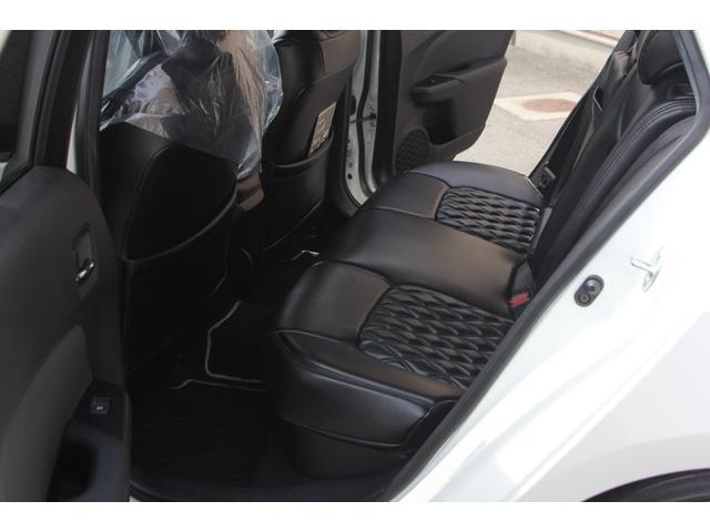 S WALDエアロパーツ WALDリアスポイラー WORKエモーションCR2P18インチ フルタップ式車高調 アルパインX9V大型ナビ ETC 社外コンビハンドル ドラレコ 革調シートカバー フロアマット(41枚目)