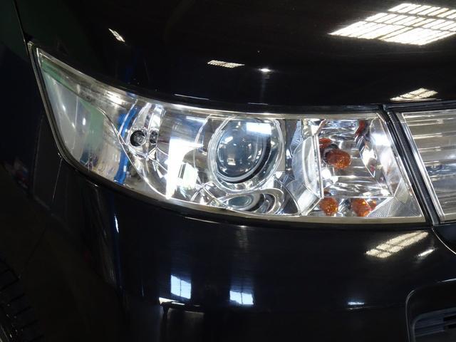 X HIDヘッドライト フォグランプ スマートキー プッシュボタンスタート 社外アルミ 電格ミラー オートエアコン CVT タイミングチェーン 左右照明付きバニティーミラー チルトステア シートリフター(9枚目)
