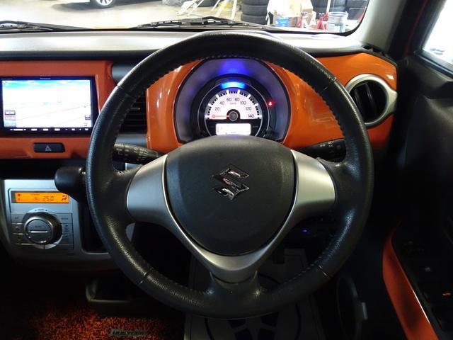 Xターボ ワンオーナー ターボ 社外SDナビ ワンセグ 走行中視聴可 CD ETC HIDヘッドライト シートヒーター スマートキー 純正アルミ アイドリングストップ プッシュボタンスタート 電動格納ミラー(22枚目)