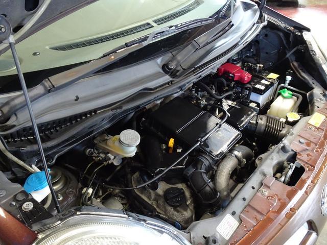 G エアロスタイル ワンオーナー 社外MD スマートキー 純正アルミ オートエアコン エンジンスターターリモコン チップアップシート 衝突安全ボディ パワーステアリング タイミングチェーン ABS 第三者機関鑑定車(6枚目)