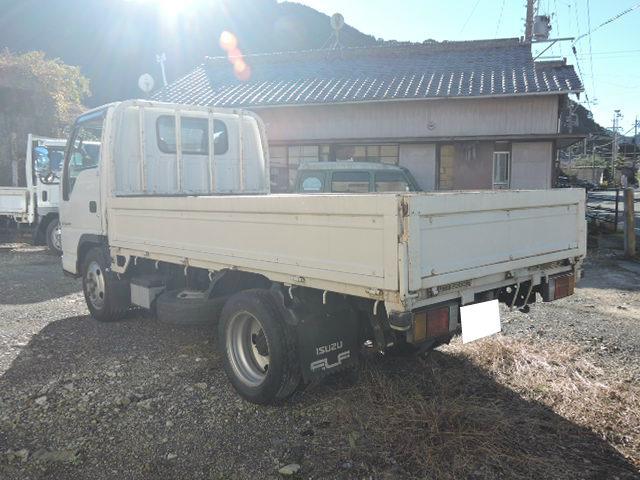いすゞ エルフトラック 全低床2t4ナンバ-