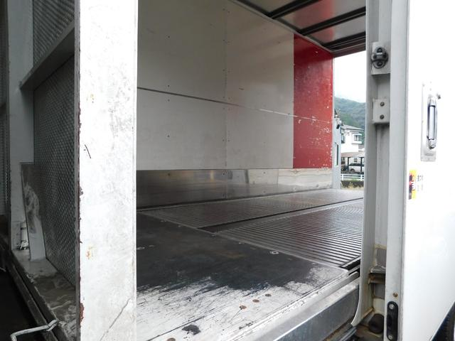 いすゞ エルフトラック 3tロングアルミバンサイドドアオ-トフロア