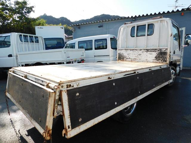 いすゞ エルフトラック 2tカスタム平ボディー全低床