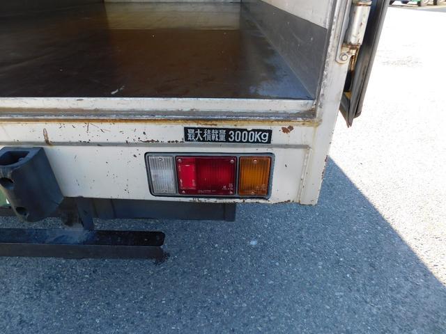 いすゞ エルフトラック 3tワイドロングアルミバン