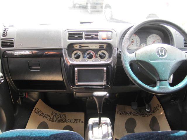 ホンダ バモス ターボ 4WD モデューロエアロ キーレス Sパッケージ