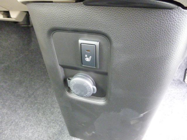 運転席側シートヒーターです