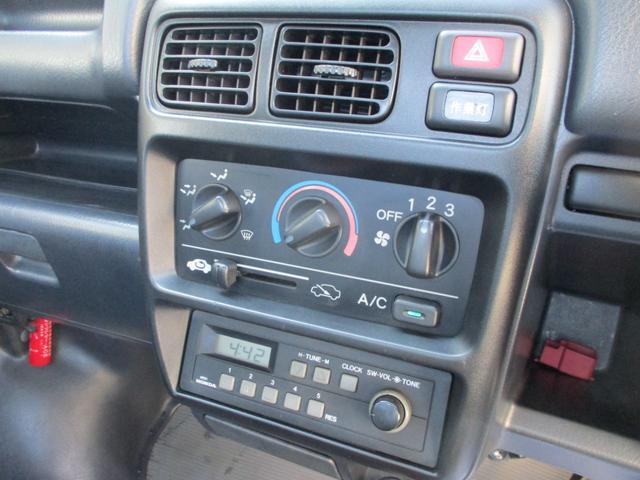 ラジオ・エアコン付き