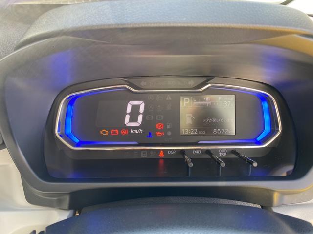 X SAIII 14インチフルホイールキャップ LEDヘッドランプ 電動格納式(カラード)ドアミラー 自発光式デジタルメーターブルーイルミネーションメーター マニュアルエアコン(ダイヤル式) キーレスエントリー(18枚目)