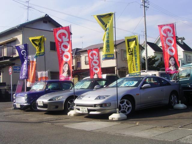 展示場はすぐ近くにございます。グーネット掲載車以外にも特にお手頃な軽自動車を多数取り揃えています!
