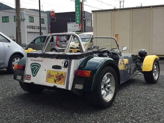 「ロータス」「ロータス スーパー7」「オープンカー」「静岡県」の中古車24