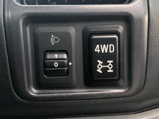 【4WD】オフロードや雪道など不安定な場所も走行できちゃう◎