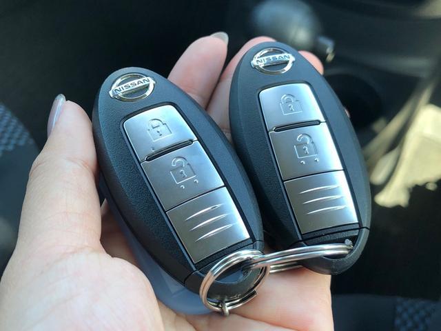 【スマートキー】キーをカバンやポケットに入れておくだけで、鍵の施錠・開錠、エンジンスタートが出来ます!