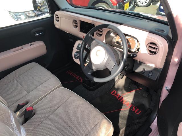 ダイハツ ミラココア ココアプラスX ルーフレール ピンクインテリア 試乗車アップ