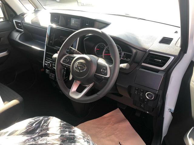 カスタムG 衝突被害軽減ブレーキ 両側電動スライドドア LEDヘッドライト 360度パノラマモニター シートヒーター ステアリングリモコン オートクルーズコントロール プッシュスタート フリーキー 登録済未使用車(8枚目)