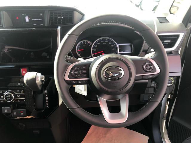 カスタムG 衝突被害軽減ブレーキ 両側電動スライドドア LEDヘッドライト 360度パノラマモニター シートヒーター ステアリングリモコン オートクルーズコントロール プッシュスタート フリーキー 登録済未使用車(10枚目)