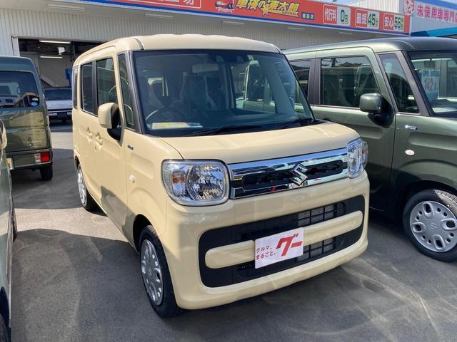 ハイブリッドX 衝突被害軽減ブレーキ 両側電動スライドドア シートヒーター オートエアコン リアサーキュレーター プッシュスタート フリーキー 届出済未使用車(14枚目)