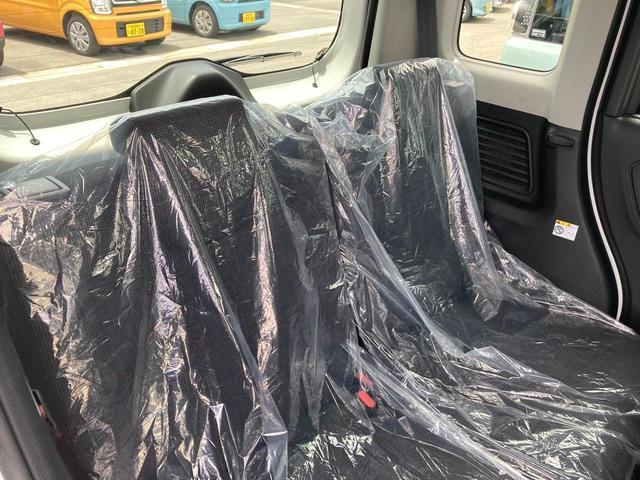 ハイブリッドX 衝突被害軽減ブレーキ 両側電動スライドドア シートヒーター リアサーキュレーター プッシュスタート フリーキー オートエアコン 届出済未使用車(30枚目)