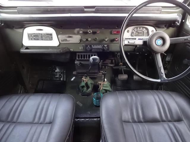 トヨタ ランドクルーザー40 BJ40パワステ
