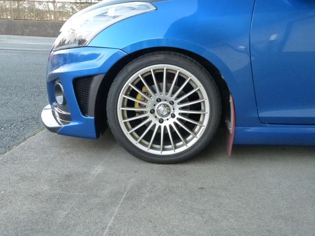 スズキ スイフトスポーツ バンパー リヤスポ車高調整サスエアボックスエキマニマフラー