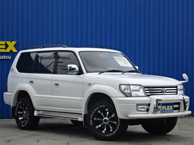トヨタ ランドクルーザープラド 2.7 TX リミテッド 4WD サンルーフ MGビースト