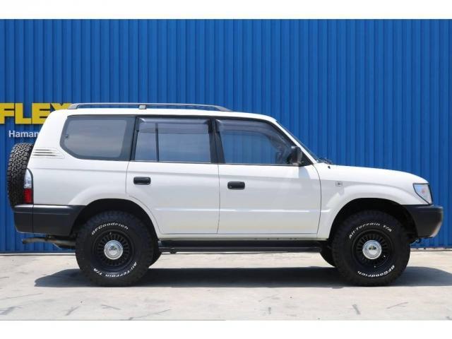 2.7 TX リミテッド 4WD 丸目換装 ペッパーホワイト(6枚目)