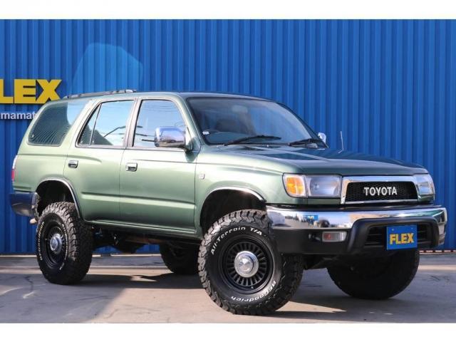 「トヨタ」「ハイラックスサーフ」「SUV・クロカン」「静岡県」の中古車3