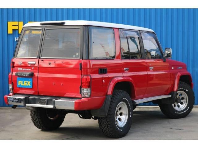 「トヨタ」「ランドクルーザープラド」「SUV・クロカン」「静岡県」の中古車8