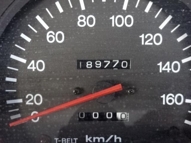 走行距離18万kmとまだまだこれからです。