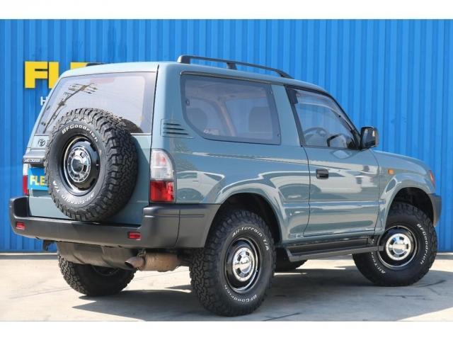 RX アンヴィルNEWペイント 後期型ディーゼルターボ 丸目 ナローボディ換装 新品ガルシアシスコ16インチAW BFグッドリッチタイヤ TOYOTAグリル 茶内装 ETC(8枚目)