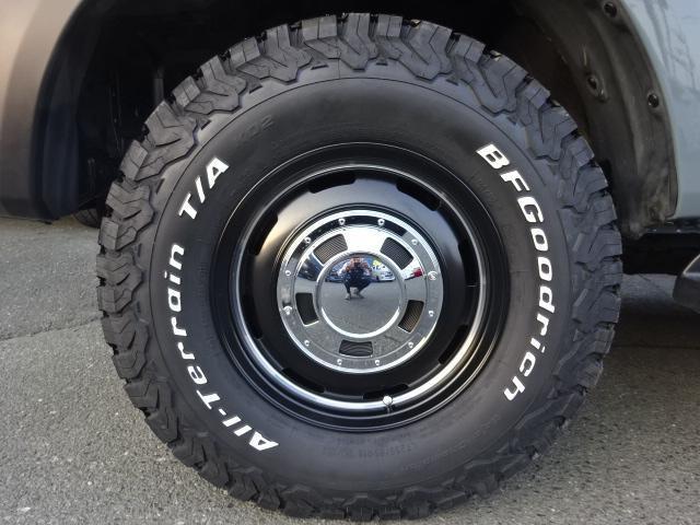 RX アンヴィルNEWペイント 後期型ディーゼルターボ 丸目 ナローボディ換装 新品ガルシアシスコ16インチAW BFグッドリッチタイヤ TOYOTAグリル 茶内装 ETC(19枚目)