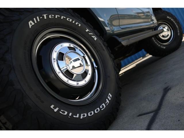 RX アンヴィルNEWペイント 後期型ディーゼルターボ 丸目 ナローボディ換装 新品ガルシアシスコ16インチAW BFグッドリッチタイヤ TOYOTAグリル 茶内装 ETC(20枚目)