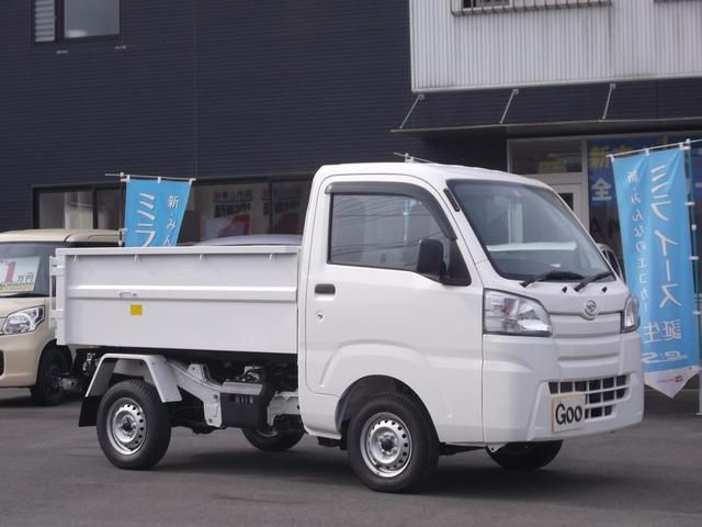 ダイハツ ハイゼットトラック 清掃ダンプ 4WD 5速マニュアル マット バイザー