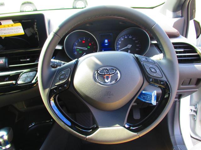 トヨタ C-HR G-T ターボ 登録済未使用車 バックカメラ スペアタイヤ