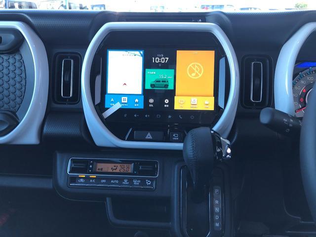 ハイブリッドXターボ 全方位モニター付きメモリーナビゲーション装着車 スズキセーフティサポート装着車(10枚目)