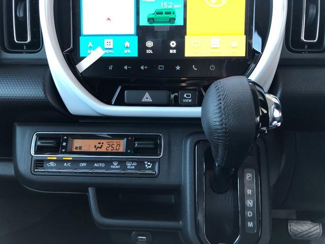 ハイブリッドXターボ 全方位モニター付きメモリーナビゲーション装着車 スズキセーフティサポート装着車(11枚目)