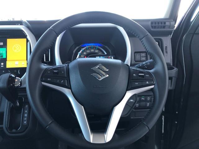 ハイブリッドXターボ 全方位モニター付きメモリーナビゲーション装着車 スズキセーフティサポート装着車(12枚目)