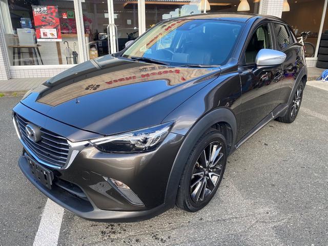 「マツダ」「CX-3」「SUV・クロカン」「静岡県」の中古車4