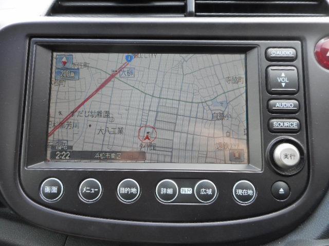 ホンダ フィット RS 純正HDDナビ ドライブレコーダー HID ETC
