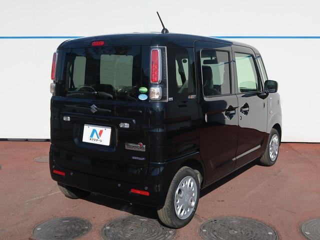 スズキ スペーシア ハイブリッドX 届出済未使用車 両側電動ドア 衝突軽減装置