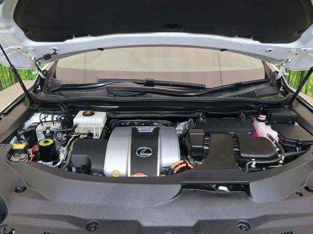 RX450h Fスポーツ メーカーナビTV パノラマサンルーフ 3眼LED 全周囲カメラ 衝突軽減ブレーキ レーダークルーズ パワーバックドア 全席シートヒーター 禁煙車(32枚目)